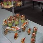 Service traiteur, Mezzanine à Sézanne 51, buffet froid