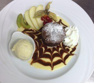 Les desserts, restaurant la Mezzanine à Sézanne dans la Marne, 51
